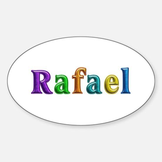 Rafael Shiny Colors Oval Decal