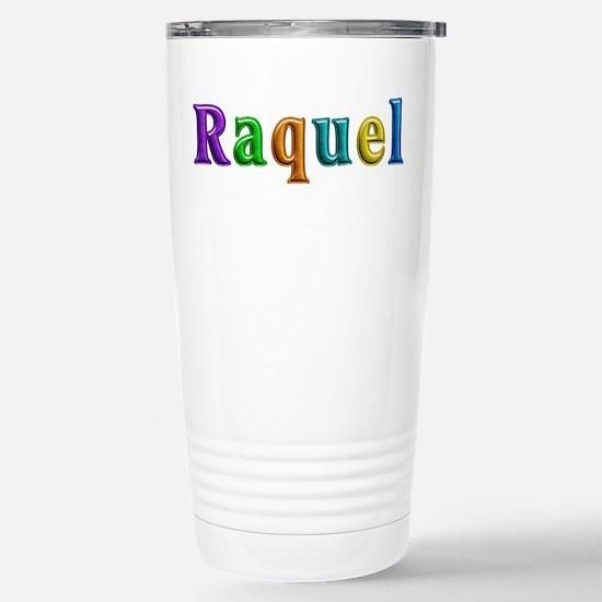 Raquel Shiny Colors Stainless Steel Travel Mug
