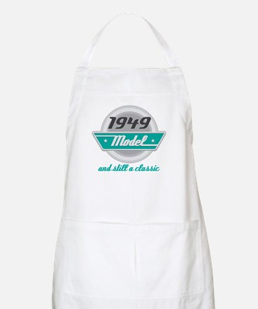 1949 Birthday Vintage Chrome Apron