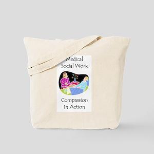 Medical Social Work Tote Bag