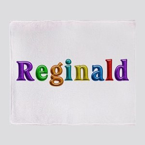 Reginald Shiny Colors Throw Blanket