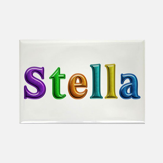 Stella Shiny Colors Rectangle Magnet