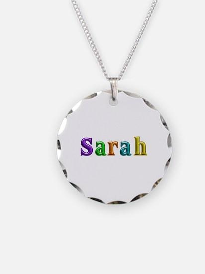 Sarah Shiny Colors Necklace