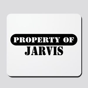 Property of Jarvis Mousepad