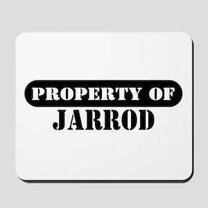 Property of Jarrod Mousepad