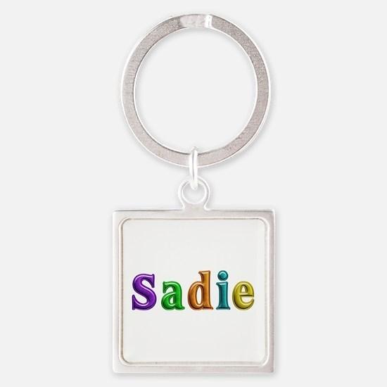 Sadie Shiny Colors Square Keychain
