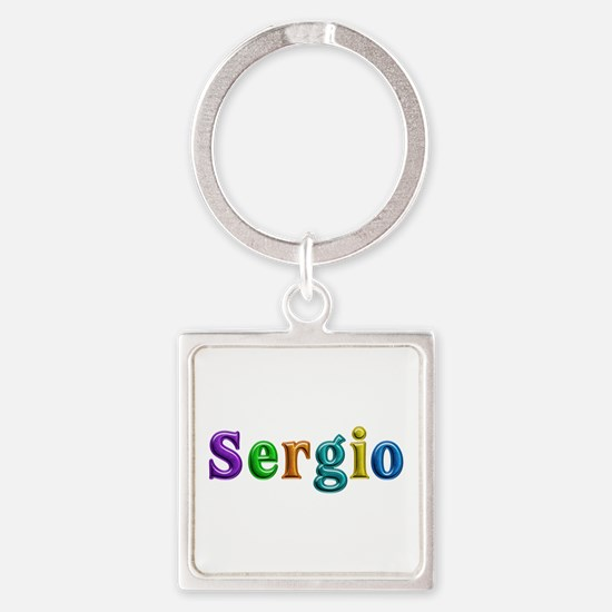 Sergio Shiny Colors Square Keychain