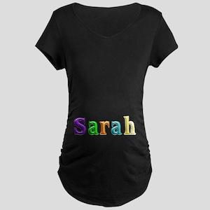 Sarah Shiny Colors Maternity Dark T-Shirt