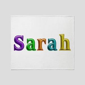Sarah Shiny Colors Throw Blanket