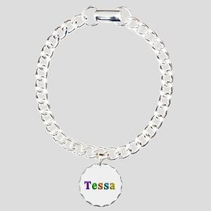 Tessa Shiny Colors Charm Bracelet