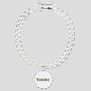 Tommy Shiny Colors Charm Bracelet