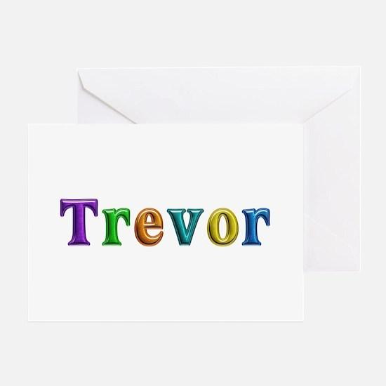 Trevor Shiny Colors Greeting Card