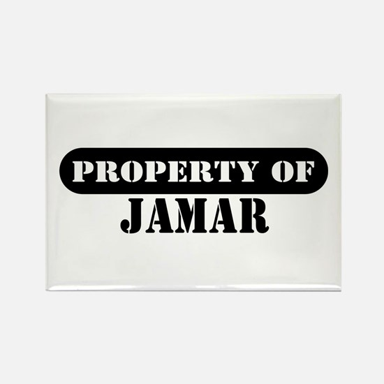 Property of Jamar Rectangle Magnet