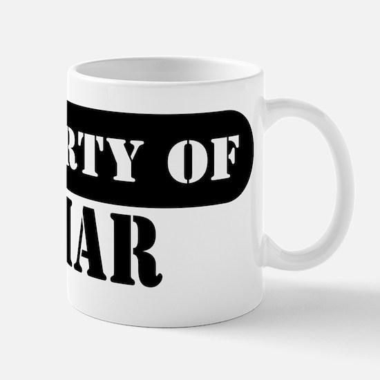 Property of Jamar Mug