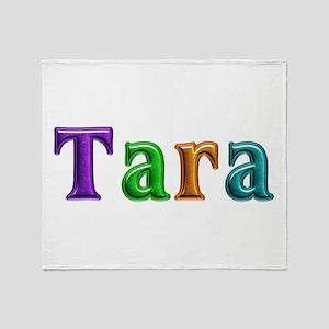 Tara Shiny Colors Throw Blanket