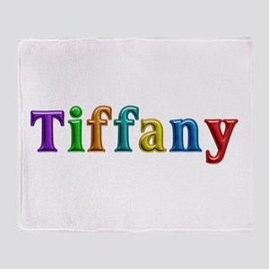 Tiffany Shiny Colors Throw Blanket