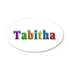 Tabitha Shiny Colors Wall Decal