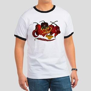 Love the heat - Hot peppers T-Shirt