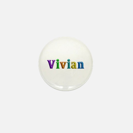 Vivian Shiny Colors Mini Button