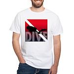 DIVE White T-Shirt