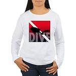 DIVE Women's Long Sleeve T-Shirt