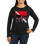 DIVE Women's Long Sleeve Dark T-Shirt