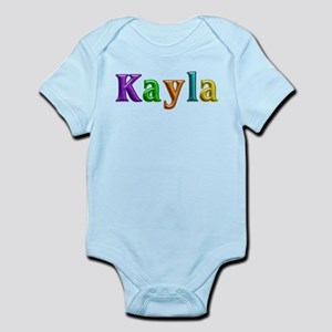 Kayla Shiny Colors Body Suit