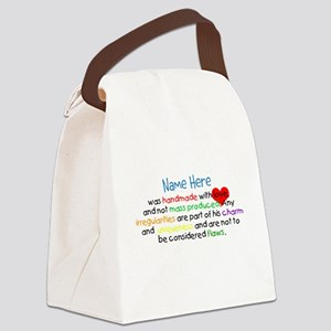 Handmade With Love boy named Canvas Lunch Bag