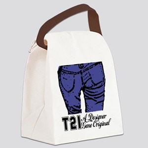 designer genes denim Canvas Lunch Bag