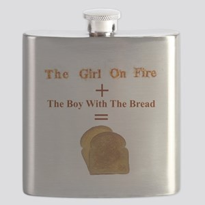 Toast, The Girl on Fire Flask