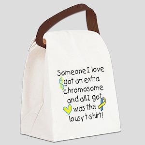 extra chromosome Canvas Lunch Bag