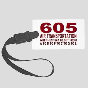 605 air trans Luggage Tag
