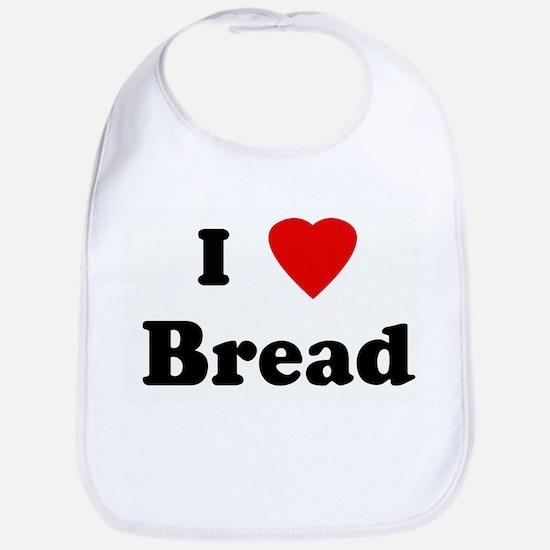 I Love Bread Bib