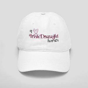 I love Irish Draught horses Baseball Cap