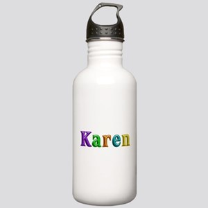 Karen Shiny Colors Water Bottle
