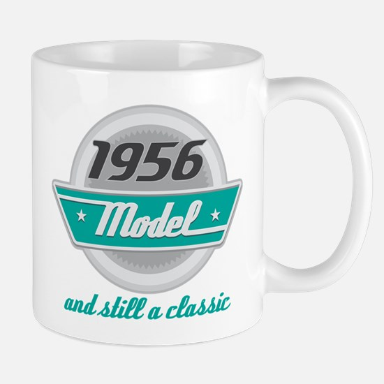 1956 Birthday Vintage Chrome Mug