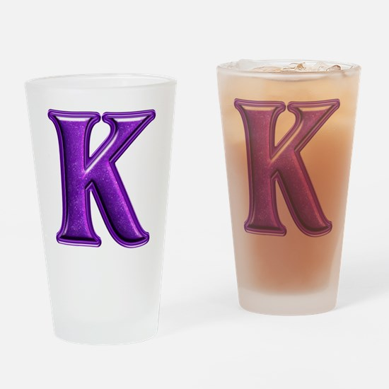 K Shiny Colors Drinking Glass