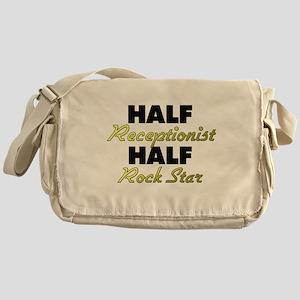 Half Receptionist Half Rock Star Messenger Bag