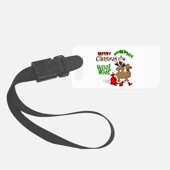 Merry Hump Day Christmas Luggage Tag