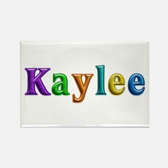Kaylee Shiny Colors Rectangle Magnet