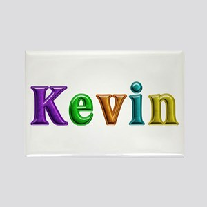 Kevin Shiny Colors Rectangle Magnet