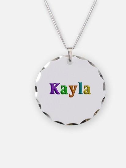 Kayla Shiny Colors Necklace