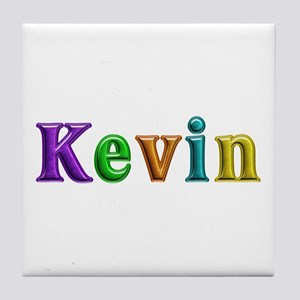 Kevin Shiny Colors Tile Coaster