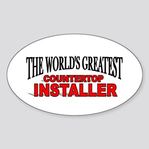 """The World's Greatest Countertop Installer"" Sticke"