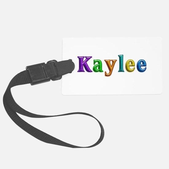 Kaylee Shiny Colors Luggage Tag