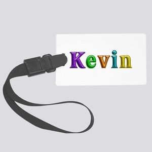 Kevin Shiny Colors Large Luggage Tag