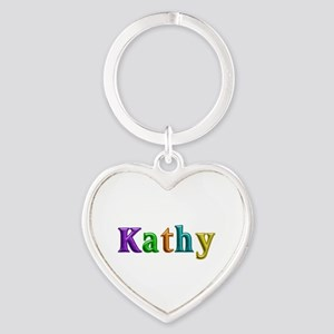 Kathy Shiny Colors Heart Keychain