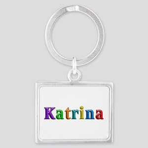 Katrina Shiny Colors Landscape Keychain