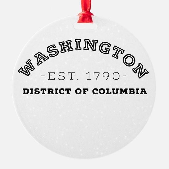 Washington District of Columbia Ornament