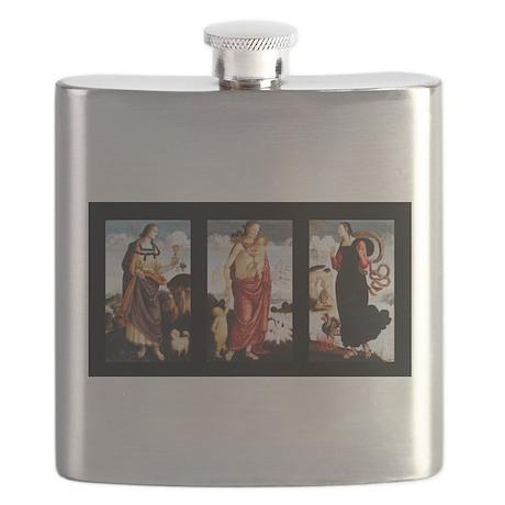 The Three Virtues: Faith, Charity, Hope Flask